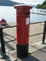 Bowness Pier Postbox